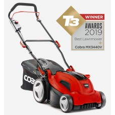 "Cobra MX3440V 13"" Cordless Lawnmower T3 Award winner 2019 Best Lawnmower"